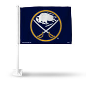 Buffalo Sabres Primary Logo Car Flag