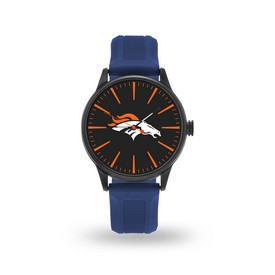 Sparo Broncos Cheer Watch With Navy Watch Band