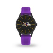 Sparo Ravens Cheer Watch With Purple Watch Band