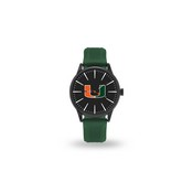 Sparo Miami University Cheer Watch With Green Band