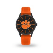 Sparo Clemson Cheer Watch With Orange Band