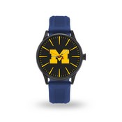 Sparo Michigan Cheer Watch With Navy Watch Band