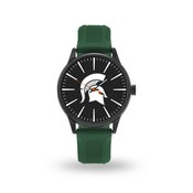 Sparo Michigan State Cheer Watch With Green Watch Band