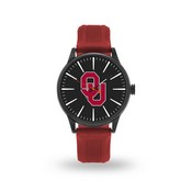 Sparo Oklahoma Cheer Watch With Maroon Watch Band