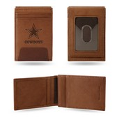 Cowboys Premium Leather Front Pocket Wallet