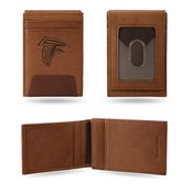 Falcons Premium Leather Front Pocket Wallet