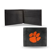 Clemson Embroidered Billfold