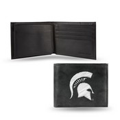 Michigan State Embroidered Billfold