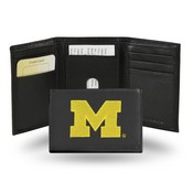 Michigan Embroidered Trifold