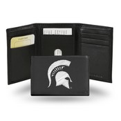 Michigan State Embroidered Trifold