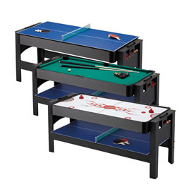 Fat Cat Pockey 3 in 1 Flip Game Table