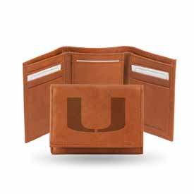 Miami Hurricanes Embossed Trifold