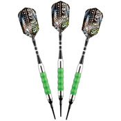 Viper Sure Grip Green Soft Tip Darts 18gm