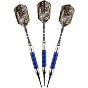 Viper Sure Grip Blue Soft Tip Darts 18gm