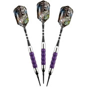 Viper Sure Grip Purple Soft Tip Darts 16gm