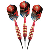 Viper Atomic Bee Red Soft Tip Darts 16gm