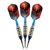 Viper Atomic Bee Blue Soft Tip Darts 16gm