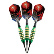 Viper Atomic Bee Green Soft Tip Darts 16gm