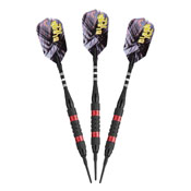 Viper Black Ice Red Soft Tip Darts 18gm
