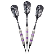 Viper Wind Runner Purple Soft Tip Darts 18gm