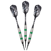 Viper Wind Runner Green Soft Tip Darts 18gm