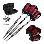 Viper Pitbull Tungsten Soft Tip Darts Diamond Cut And Ringed Barrel 18 Grams