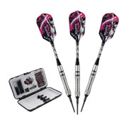 Viper Grim Reaper Tungsten Soft Tip Darts Grooved Barrel 18gm