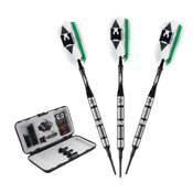 Viper Element Tungsten Soft Tip Darts Shark Kin Barrel 18 Grams
