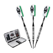 Viper Element Tungsten Soft Tip Darts Grooved Barrel 18gm