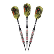 Viper Ranger Tungsten Soft Tip Darts Red Rings 18gm