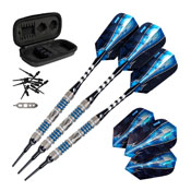Viper Astro Tungsten Soft Tip Darts Blue Rings 16 Grams