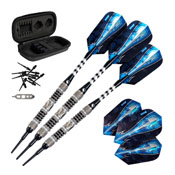 Viper Astro Tungsten Soft Tip Darts Black Rings 16gm