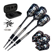 Viper Desperado Tungsten Death Mark Soft Tip Darts 2 Knurled Rings 18 Grams