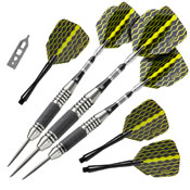 Viper The Freak Steel Tip Darts Knurled and Grooved Barrel 22gm