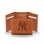 New York Yankees Embossed Trifold