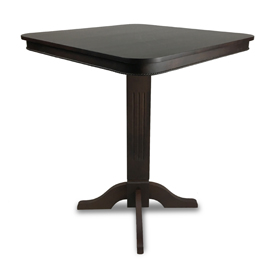 Imperial Pub Table, Weathered Dark Chestnut