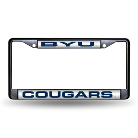 Byu Black Laser Chrome Frame