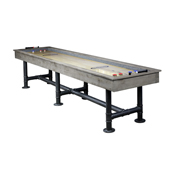 Bedford 12-ft. Shuffleboard Table; Silver Mist
