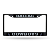 Cowboys Black Chrome Frame