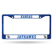 Kansas Blue Colored Chrome Frame