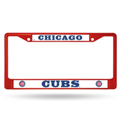 Cubs Colored Chrome Frame Secondary Red