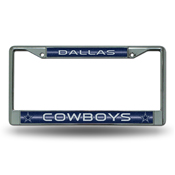 Cowboys Bling Chrome Frame