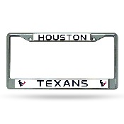 Texans Chrome Frame
