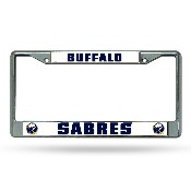 Buffalo Sabres Primary Logo Chrome Frame