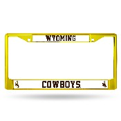Wyoming Yellow Colored Chrome Frame