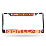 Pittsburg State Chrome Laser Frame