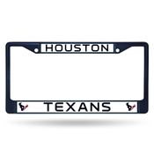 Houston Texans Colored Chrome Frame