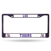 LSU Tigers Colored Chrome Frame
