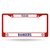 Rangers Colored Chrome Frame Secondary Red