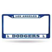 Los Angeles Dodgers Colored Chrome Frame
